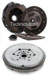 DUAL MASS FLYWHEEL DMF & COMPLETE CLUTCH KIT FORD TRANSIT 2.4 TDCI